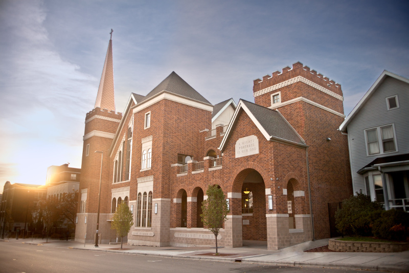 <p>The Chapel-Student Center on 220 West Gilman St in Madison, WI</p>